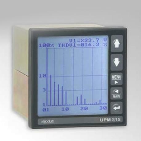 UPM315 DIN 96x96 LCD power meter